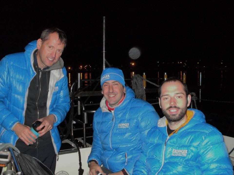 Relay Team North Channel swim