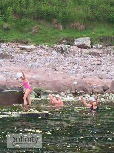 Team Ripride Dal Raida swim