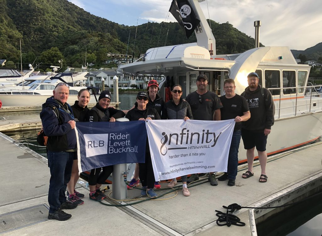 infinity Channel Swimming Cook Strait 200220